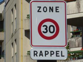 Les rues de Tours - Nord en zone 30