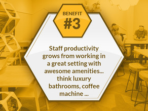 Benefit #3 of shared workspaces...