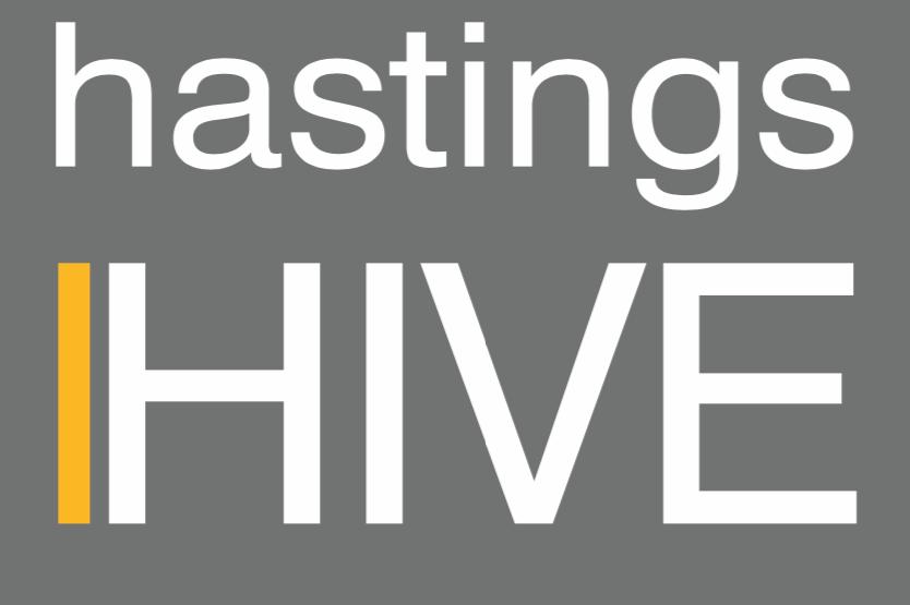 Hastings HIVE block style logo