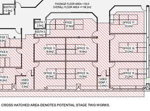 Serviced office plan #17