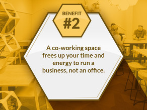 Benefit #2 of shared spaces...