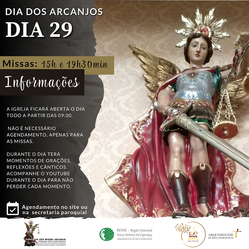 Dia de São Miguel Arcanjo - 15h
