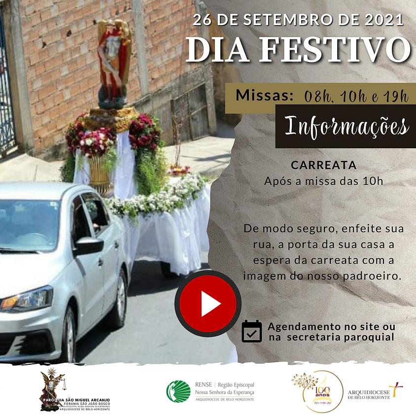 Festa de São Miguel Arcanjo - 10h