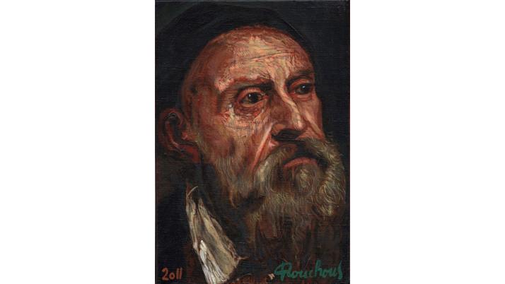 """Le Titien (1490-1576) - """"Autoportrait"""""""