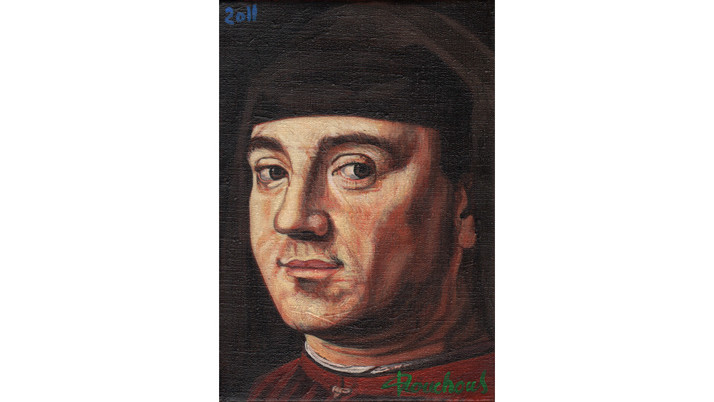 ANTONELLO DA MESSINA - Portrait homme