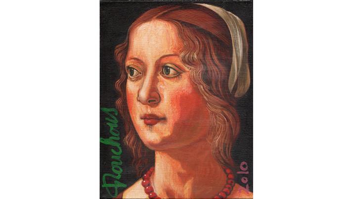 GHIRLANDAIO (1449-1494) - Jeune femme