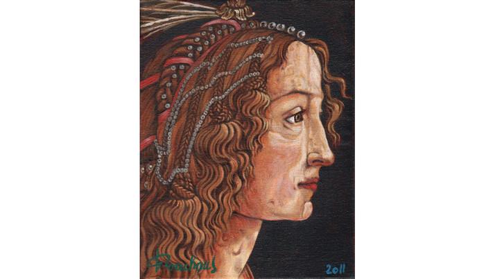 BOTICELLI - Simonetta Vespucci