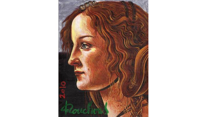 SANDRO BOTTICELLI (1445-1510) - Simonetta Vespucci