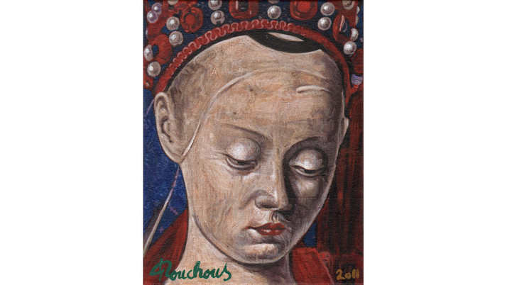 JEAN FOUQUET (1415-1478) - Vierge de Melun
