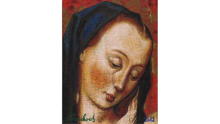 DIRK BOUTS (1415-1475) - Virgin