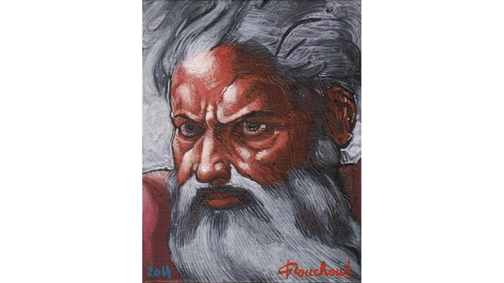 MICHEL-ANGE (1475-1564) - Dieu