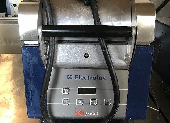 ELECTROLUX HSPPAN HSG PANINI PRESS SANDWICH GRILL USED