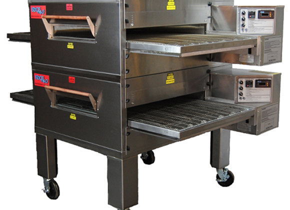 EDGE 3240-2-G2 Series Double-Stack Gas Conveyor Pizza Oven