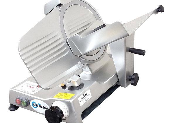 "Univex 4610 Manual Meat & Cheese Slicer w/ 10"" Blade, Belt Driven, Aluminum, 1/4"