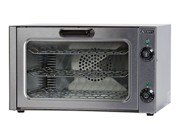 Adcraft COQ-1750W Quarter-Size Countertop Convection Oven, 120v