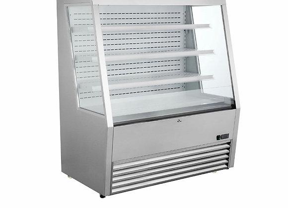 """ELIA EKOM-48 SS 48"""" Vertical Open Display Case Merchandiser"""
