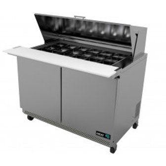 "ASBER APTM-48-18 48"" MEGATOP SANDWICH PREP TABLE COOLER"