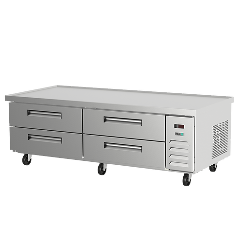 "ASBER ACBR-84 84"" REFRIGERATED CHEF BASE"