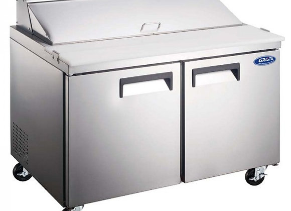 """60"""" COMMERCIAL REFRIGERATED SANDWICH PREP TABLE COOLER"""