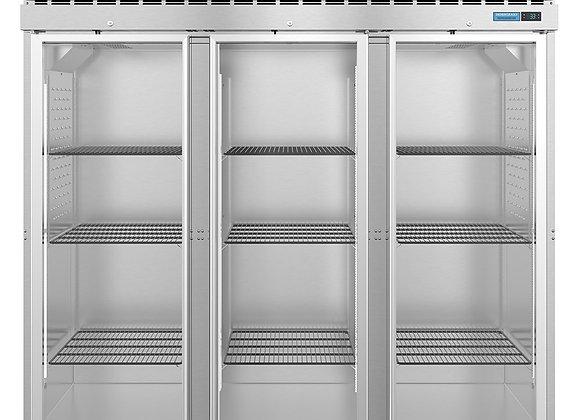 "Hoshizaki R3A-FG 82.5"" Three Section Reach In Refrigerator, (3) Left/Right Hinge"