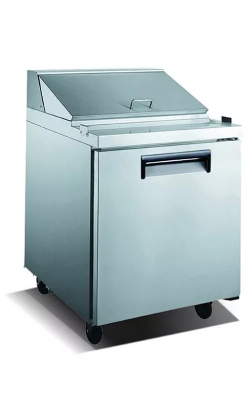 OMEGA EQUIPMENT COMMERCIAL REFRIGERATED SANDWICH PREP TABLE COOLER - Sandwich prep table cooler