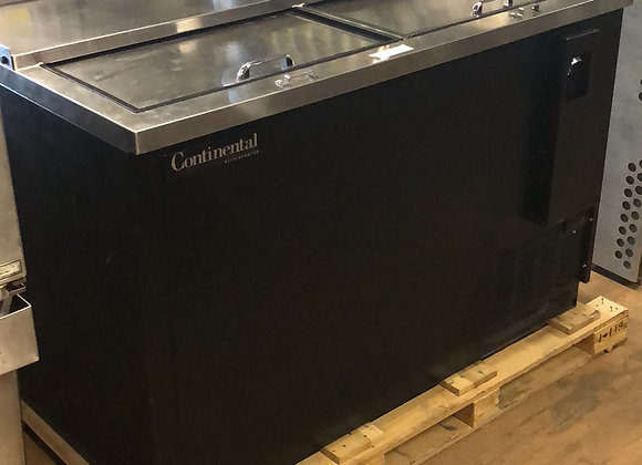 "USED CONTINENTAL CBC50 50"" COMMERCIAL BACK BAR COOLER"