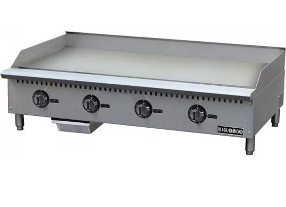 "48"" THERMOSTATIC GAS GRIDDLE COMMERCIAL GRADE"