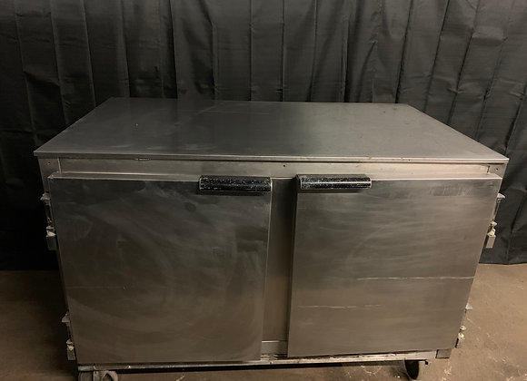 """BEVERAGE AIR UCR48A 48"""" UNDERCOUNTER REFRIGERATOR USED"""