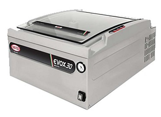 Eurodib EVOX30 - Orved EVOX30 Vacuum Packaging Machine, countertop, single chamb