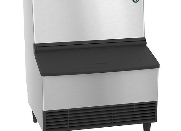 "Hoshizaki KM-230BAJ 24"" Air Cooled Modular Crescent Cube Ice Machine with Bin -"