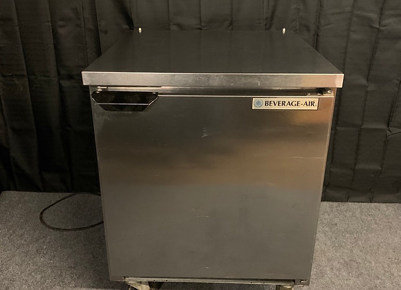"BEVERAGE AIR MT27A 27"" UNDERCOUNTER WORKTOP REFRIGERATOR COOLER USED"