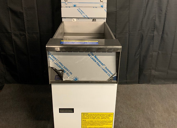 PITCO SG14 GAS FRYER FRIALATOR WITH CASTERS DEMO