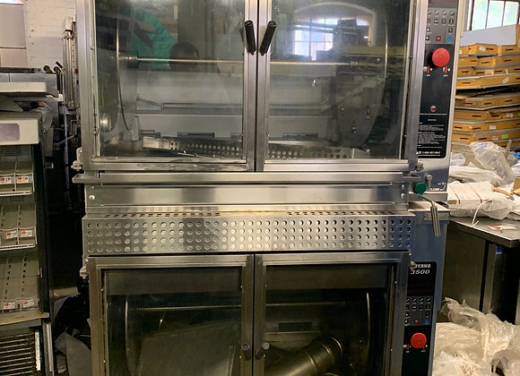 HARDT INFERNO 3500 DOUBLE STACK GAS USED ROTISSERIE