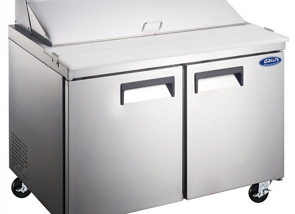 """48"""" COMMERCIAL REFRIGERATED SANDWICH PREP TABLE COOLER"""