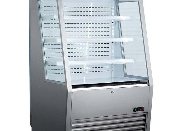 """ELIA EKOM-36 SS 36"""" Vertical Open Display Case Merchandiser"""