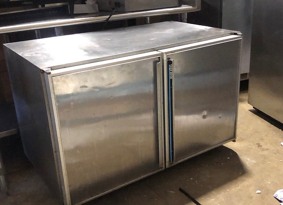 "SILVERKING SKR48 48"" UNDERCOUNTER COMMERCIAL REFRIGERATOR COOLER USED"
