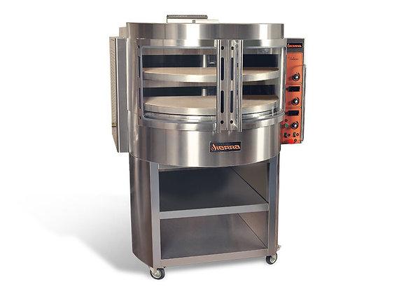 "Sierra VOLARE - Pizza Oven, gas,(2) rotating 38.6"" decks (14) 12"" pizza capacity"