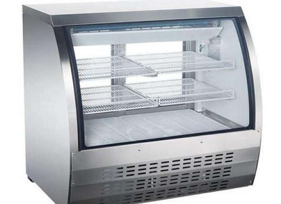 """ELIA 48"""" REFRIGERATED CURVED GLASS DELI DISPLAY CASE"""