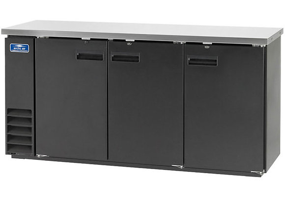 """Arctic Air ABB72 73"""" Solid Door Back Bar Refrigerator"""