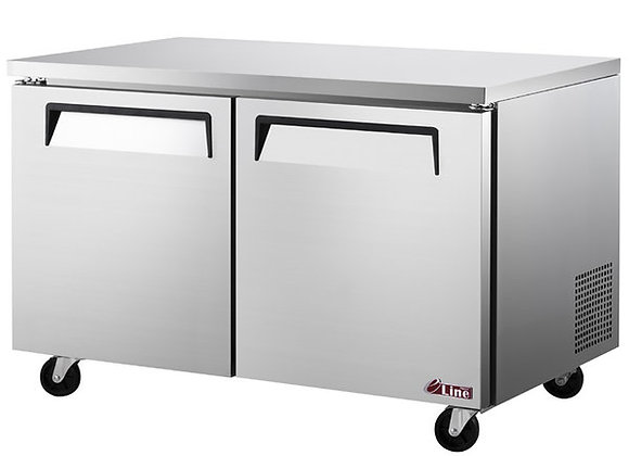 "Turbo Air EUF-60-N E-line 60 1/4"" Undercounter Freezer"