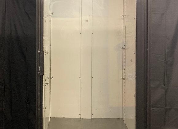 TRUE GDM-26 SINGLE GLASS DOOR REFRIGERATOR MERCHANDISER USED NANTUCKET NECTARS
