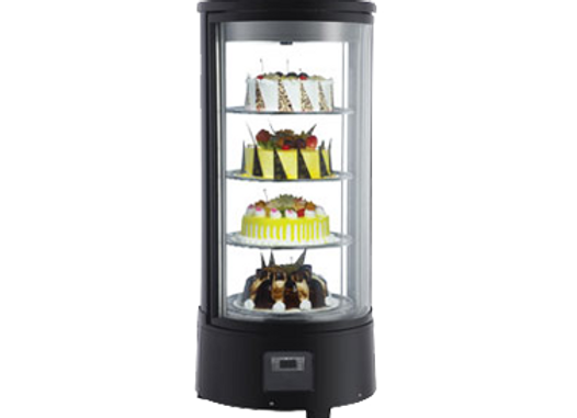 ELIA COUNTERTOP ROTATING REFRIGERATED DISPLAY CASE/DESSERT CASE
