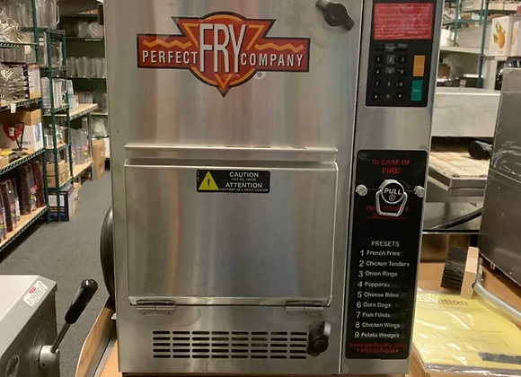 PERFECT FRY PFC570 208V Semi-Automatic Ventless Countertop Deep Fryer