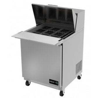 "ASBER APTM-27-12 27"" MEGATOP SANDWICH PREP TABLE COOLER"
