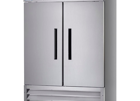 "Arctic Air AF49 54"" Two Section Reach In Freezer, (2) Solid Doors, 115v"