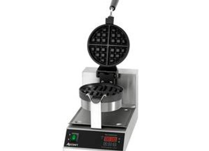 Adcraft BWM-7/R Single Classic Belgian Waffle Maker w/ Cast Aluminum Grids, 1080