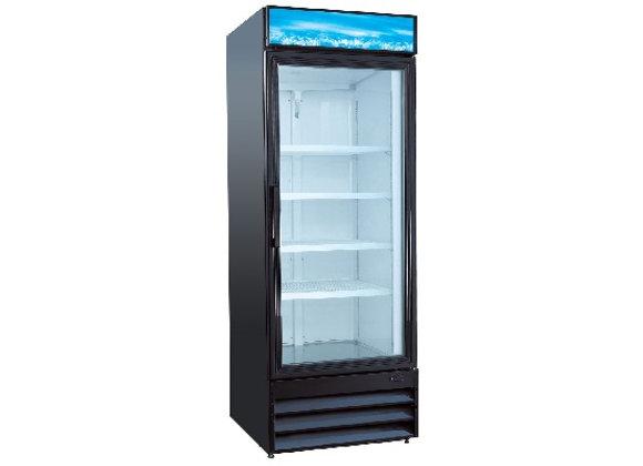 """Single Glass Door 28"""" Merchandiser Refrigerator"""
