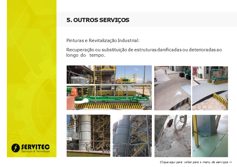 PORTFOLIO DA SERVITEC