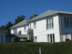 Anschluss an das Bestandsgebäude