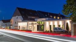 Haupteingang des Hotel Schönau
